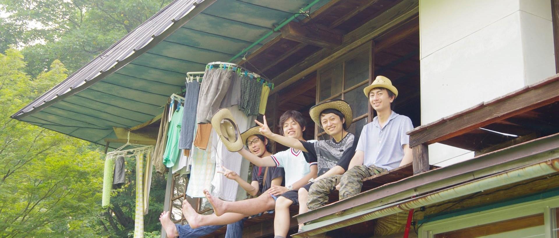 実例3.夏休みを満喫する男子の同窓会