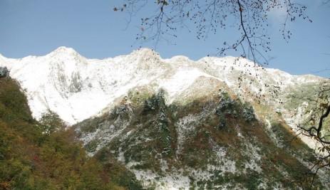 日本百名山 雨飾山